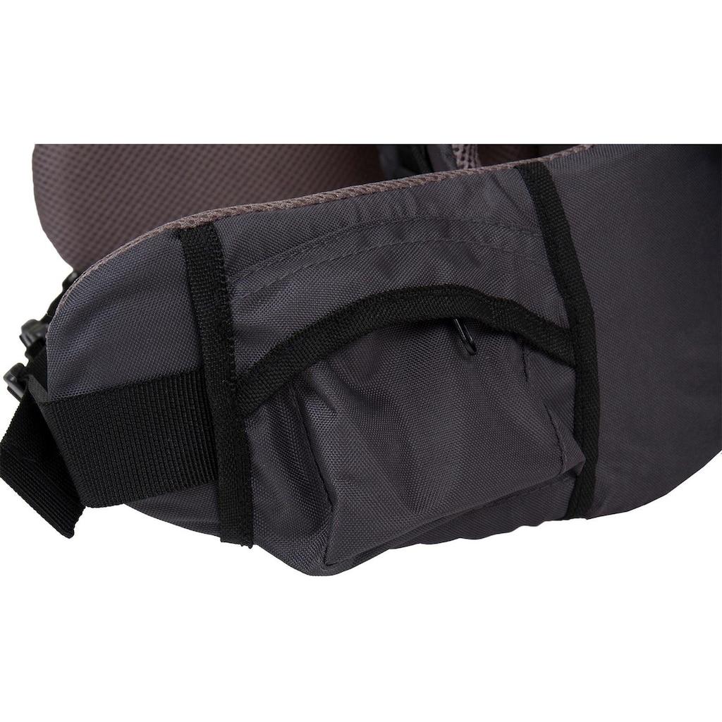 Fillikid Rückentrage »Explorer grau«, bis 20 kg