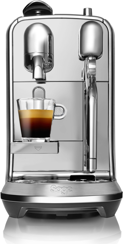 Nespresso Kapselmaschine Sage Nespresso Maschine The Creatista Plus