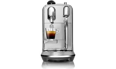 Nespresso Kapselmaschine SAGE Nespresso - Maschine »The Creatista Plus, gebürstetes Edelstahl, SNE800BSS4EGE1 « kaufen
