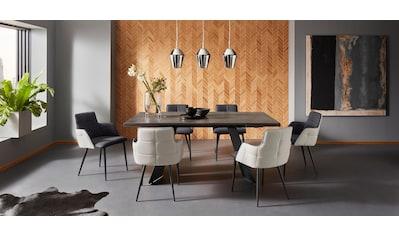Places of Style Esstisch »Koral«, mit einer schönen Keramik Tischplatte, mit... kaufen
