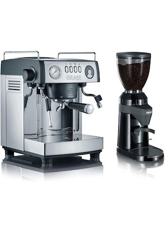 """Graef Espressomaschine »""""baronessa Set""""«, inkl. Kaffeemühle CM 802 im Wert von €179,99... kaufen"""