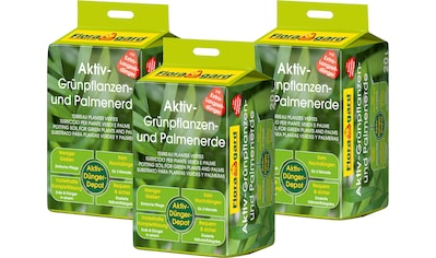 FLORAGARD Pflanzerde »Aktiv«, Gemüse -  und Palmerde, 3x20 Liter kaufen