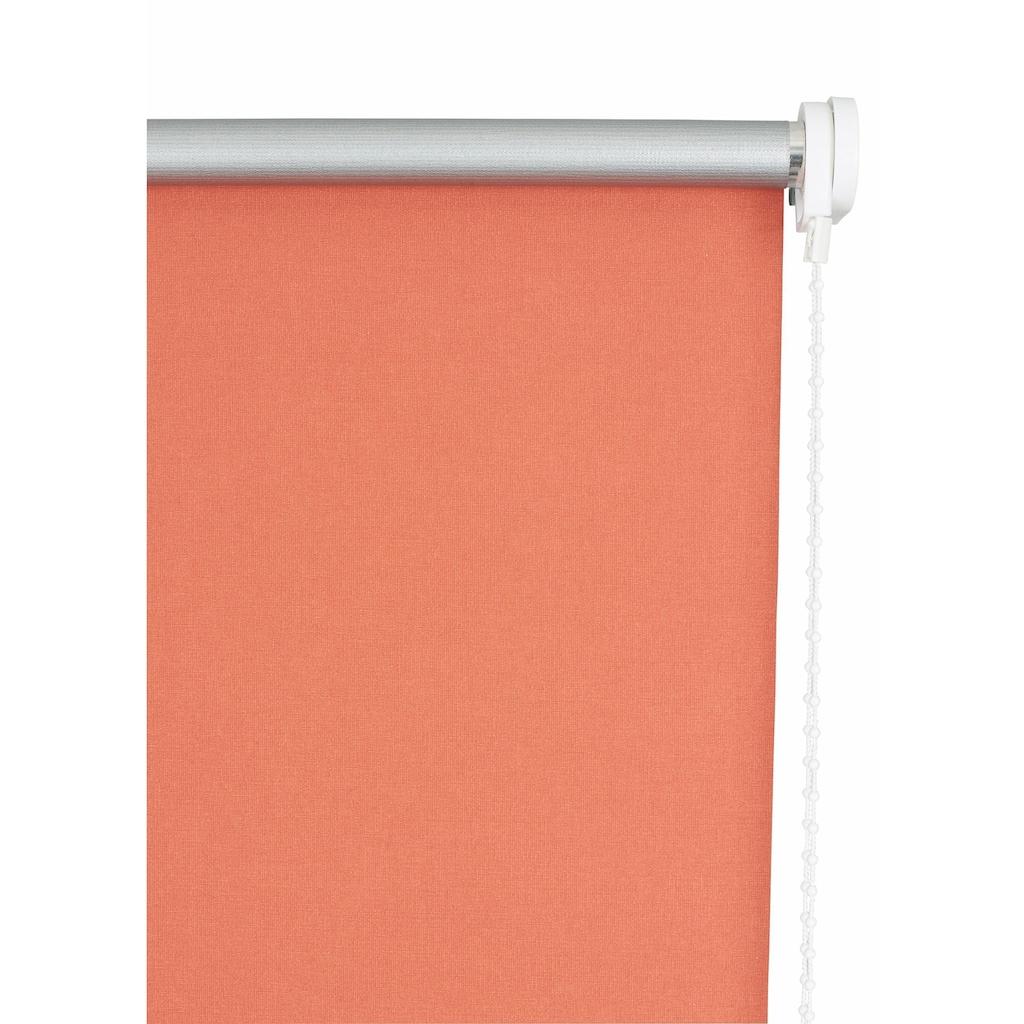 sunlines Seitenzugrollo »Uni«, verdunkelnd, energiesparend, mit Bohren, 1 Stück
