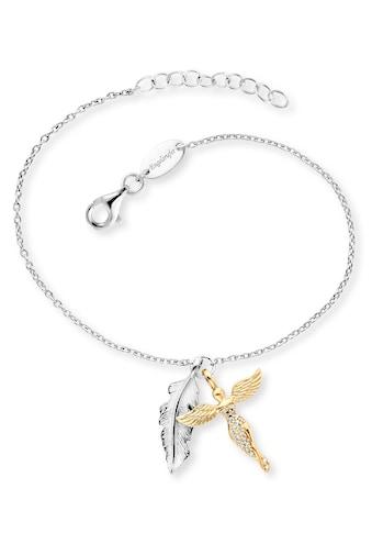 Engelsrufer Armband »Feder & Engel, ERB-FEDER-ANGEL-BIG, ERB-FEDER-ANGEL-BIR,... kaufen