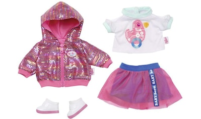 Baby Born Puppenkleidung »City Deluxe Style-Outfit«, mit Pailettendruck kaufen