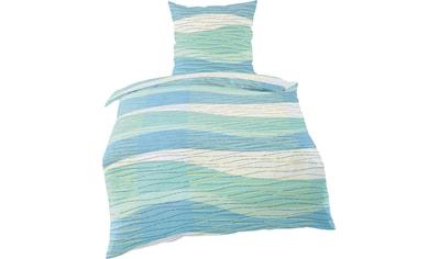 BIERBAUM Bettwäsche »Waves«, mit Wellen kaufen