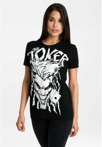 LOGOSHIRT T-Shirt »The Joker«, mit lizenziertem Originaldesign kaufen