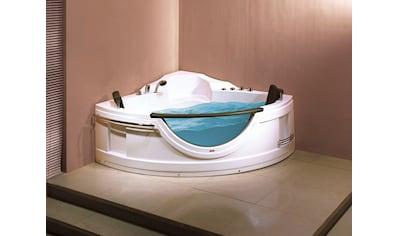 SANOTECHNIK Badewanne »Acryl«, Eckbadewanne mit Fenster, 150x150x68 cm kaufen