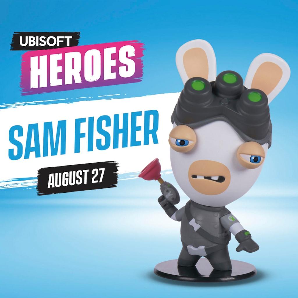 UBISOFT Spielfigur »Ubisoft Heroes - Sam Fisher Rabbid Figur«