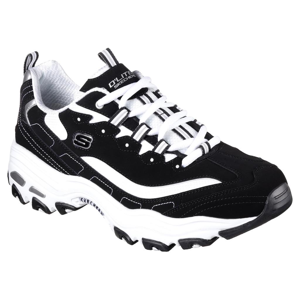 Skechers Sneaker »D' Lites«, mit Memory Foam