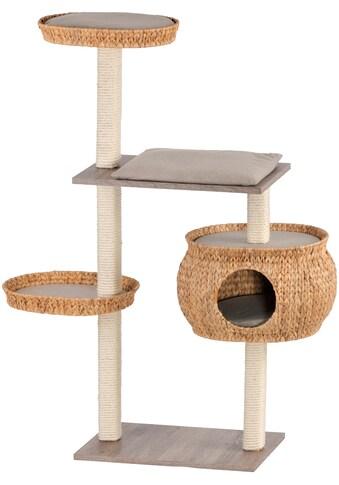 SILVIO DESIGN Kratzbaum »Stufenboy Cosy«, B/T/H: 110/36/135 cm, sanremodekor/sandfarben kaufen