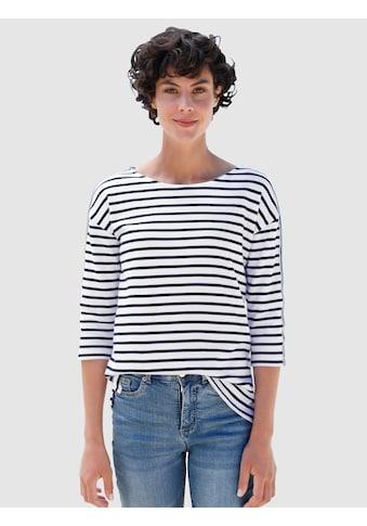 Dress In 3/4-Arm-Shirt, mit Streifen kaufen