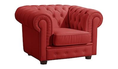 Max Winzer® Chesterfield-Sessel »Windsor«, mit edler Knopfheftung kaufen