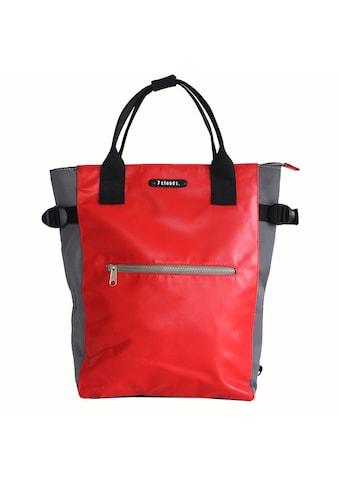 7clouds Cityrucksack »Mendo 7.1«, 2-in-1 Rucksack-Shopper Funktion kaufen
