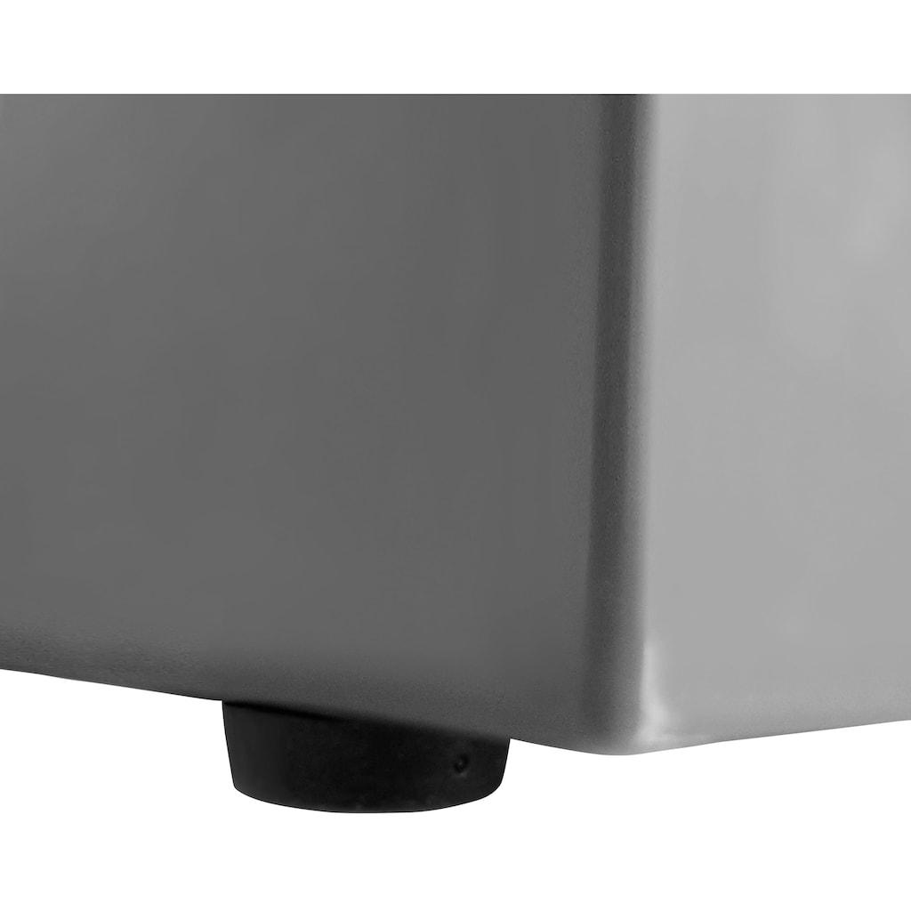 Enders Gaskocher »Canberra 2«, Stahl, 43 cmx26 cm, BxLxH: 43x26x10 cm, 2 x 2,3 kW Brenner