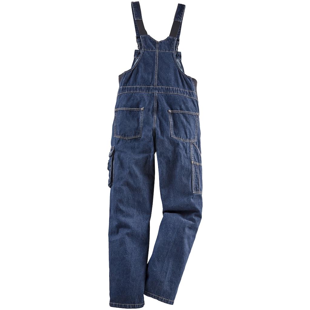 Latzhose »Worker Jeans«, mit dehnbarem Bund