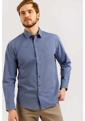 Finn Flare Businesshemd, mit Karodesign kaufen