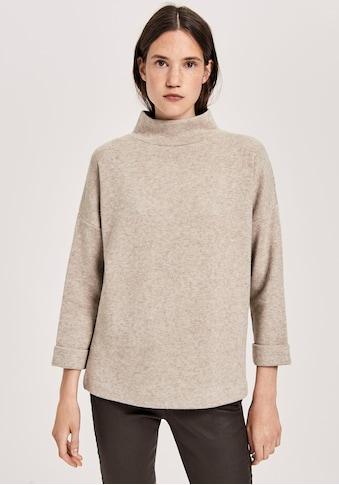 OPUS Sweatshirt »Giliane«, mit lockeren Rollkragen kaufen