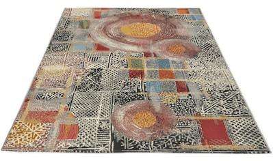 Gino Falcone Teppich »Outdoor-Africa 36«, rechteckig, 5 mm Höhe, Flachgewebe, In- und... kaufen