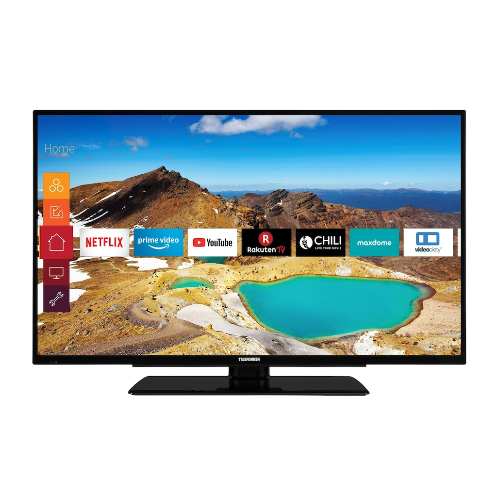 Telefunken XU55G521 LED-Fernseher (140 cm / (55 Zoll), 4K Ultra HD, Smart-TV