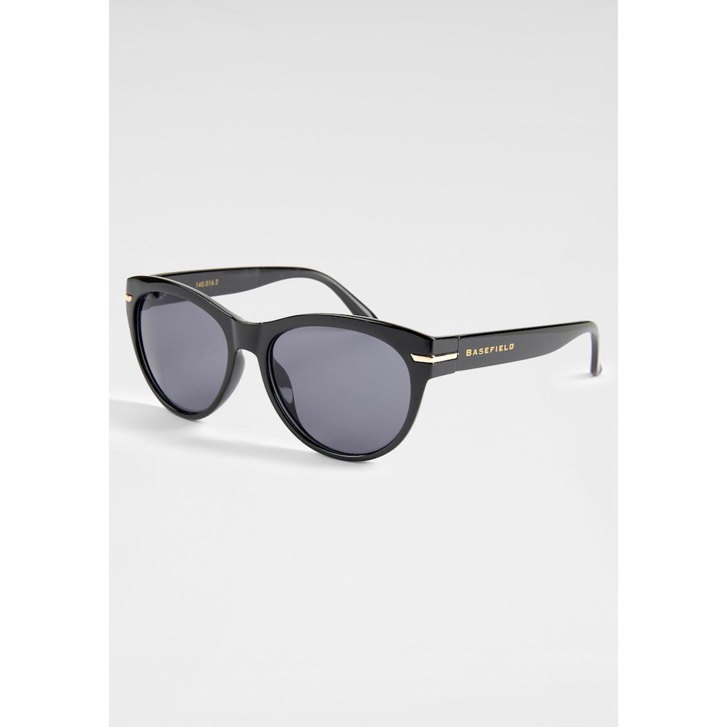 BASEFIELD Sonnenbrille, mit Logoschriftzug auf dem Bügel