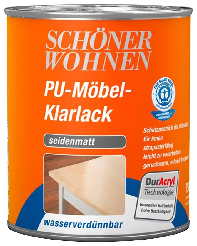 SCHÖNER WOHNEN FARBE Klarlack »PU-Möbel-Klarlack«, seidenmatt, 750 ml  online bestellen | BAUR