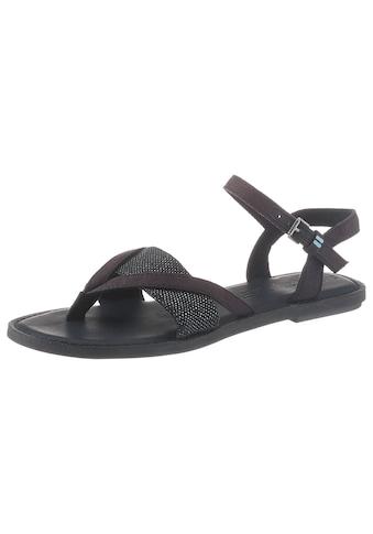 TOMS Sandale, mit Glitzer-Details kaufen