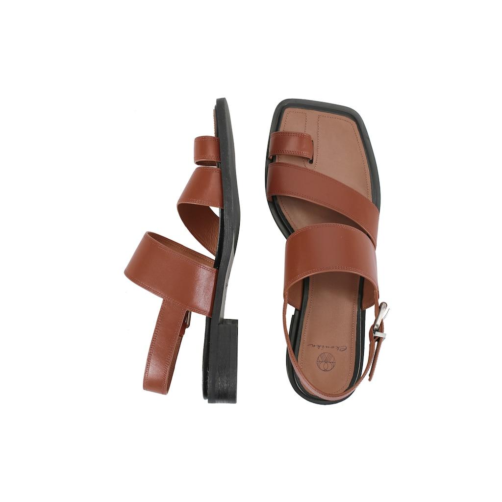 ekonika Sandale, aus echtem Leder