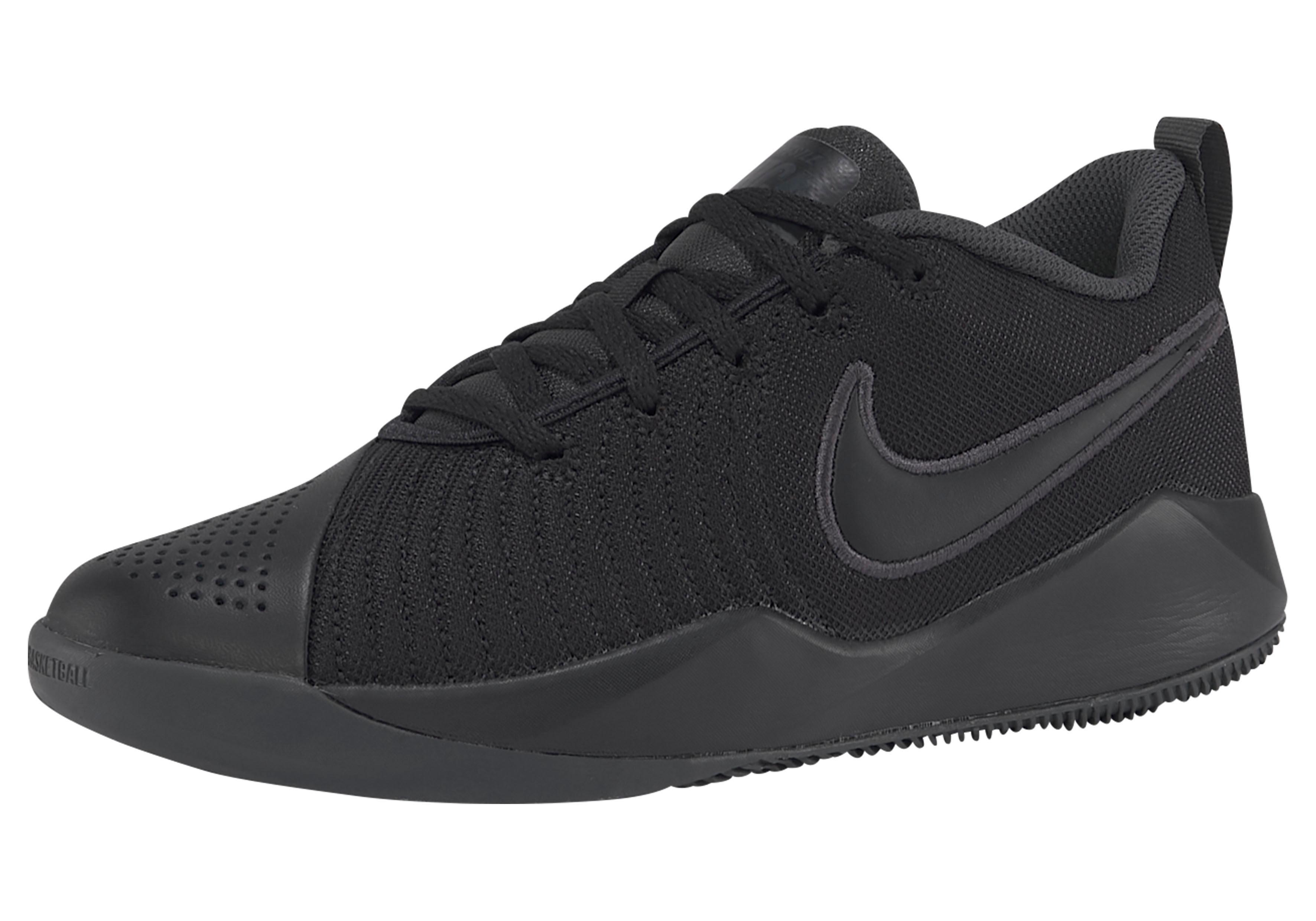 Nike Basketballschuh Team Hustle Quick 2 (gs) | Schuhe > Sportschuhe > Basketballschuhe | Schwarz | Nike