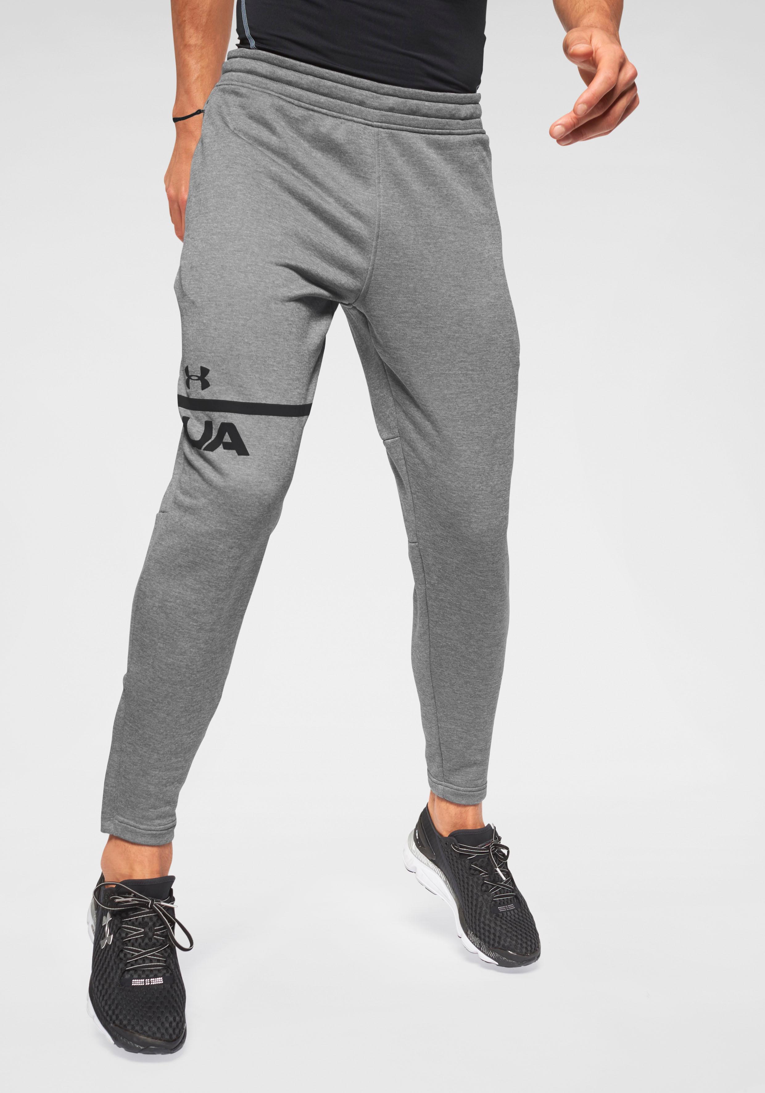 Under Armour Jogginghose MK1 TERRY TAPERED PANT | Sportbekleidung > Sporthosen > Jogginghosen | Grau | Under Armour