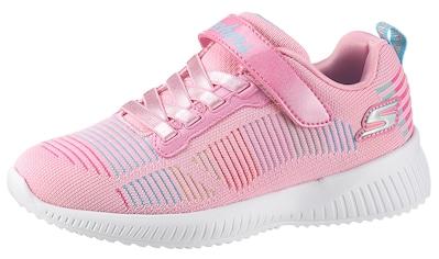 Skechers Kids Sneaker »BOBS SQUAD«, mit gepolstertem Schaftrand kaufen