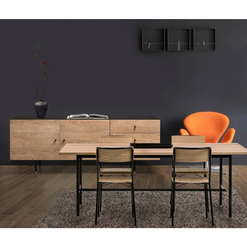 Woodman Esstisch »Daniel«, Breite 200 cm, verlängerbar auf 300 cm