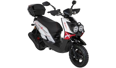 GT UNION Motorroller »PX 55 Cross - Concept«, 125 ccm, 85 km/h, inkl. Topcase kaufen