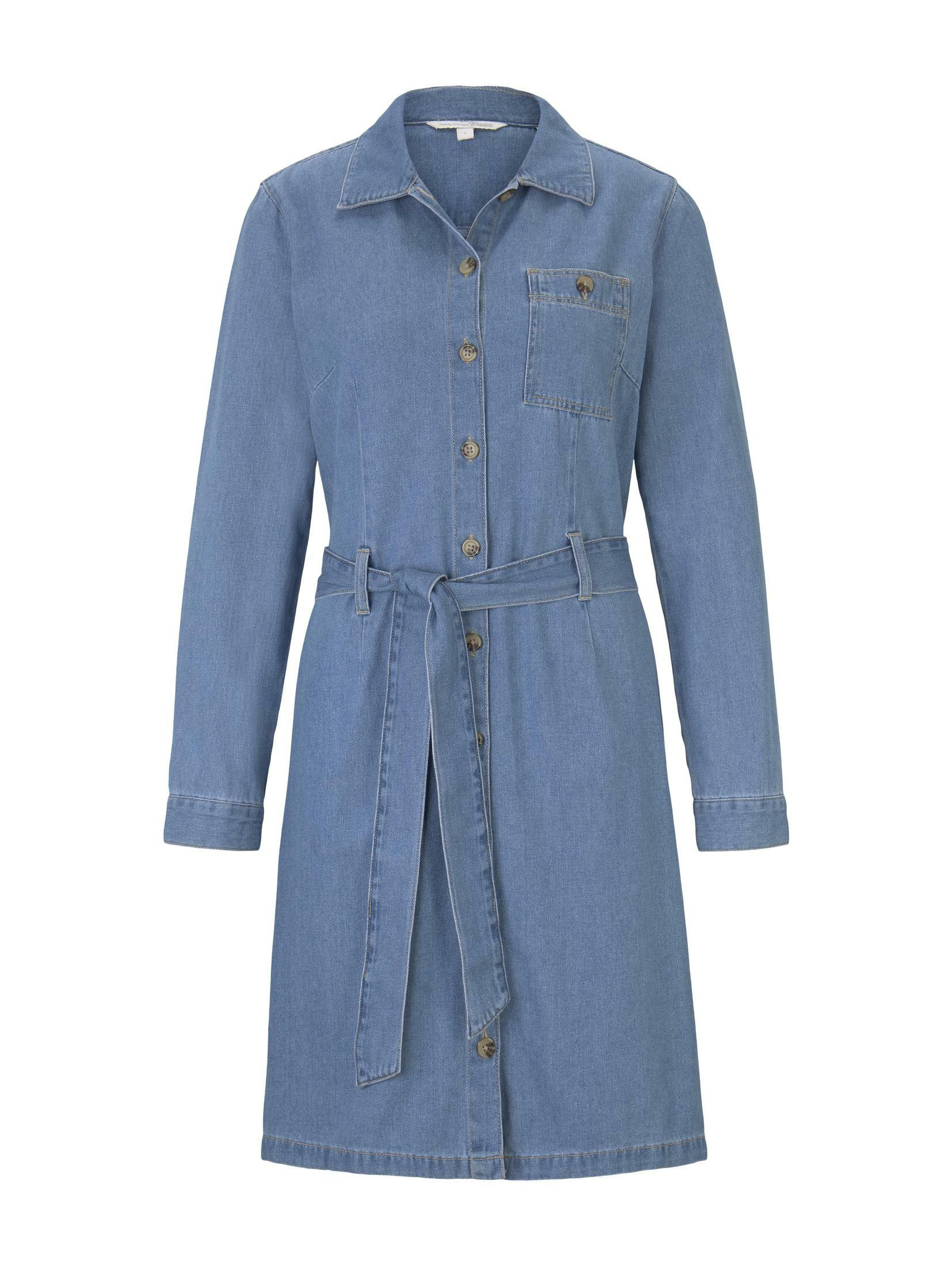 TOM TAILOR Denim Jeanskleid Mini Jeanskleid Damenmode/Bekleidung/Kleider/Jeanskleider