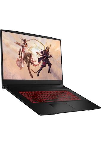 "MSI Gaming-Notebook »GF76 11UD-082«, (43,9 cm/17,3 "" Intel Core i7 GeForce RTX™ 3050... kaufen"