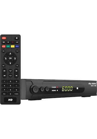 Sky Vision Kabel-Receiver »210 C-HD HDTV«, (Kindersicherung-EPG (elektronische... kaufen
