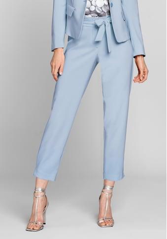 bianca Stretch-Hose »PARIGI«, in der angesagten Trendfarbe mit Bindegürtel kaufen