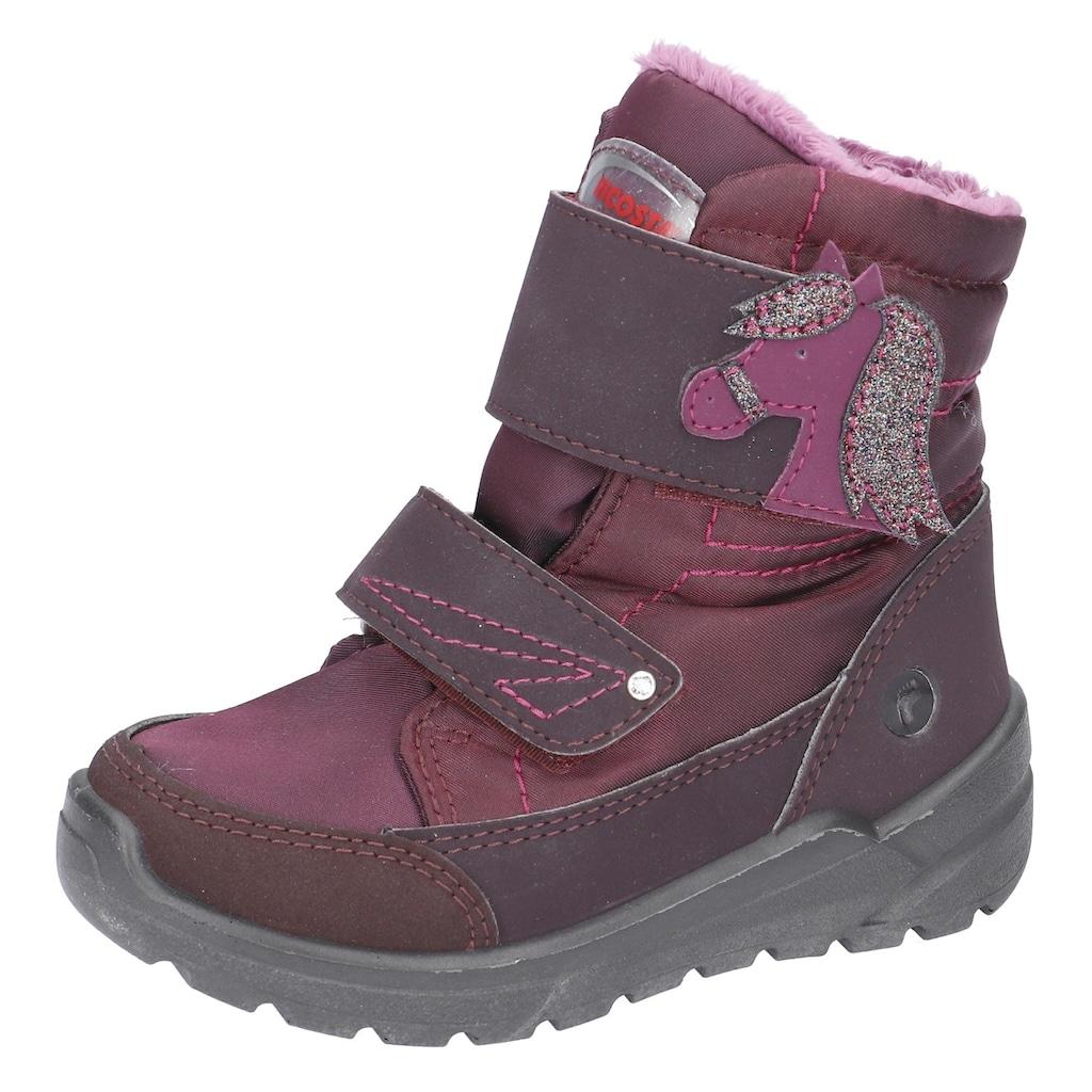 Ricosta Klettstiefel »Garei WMS Schuhweiten Mess-System: Weit«, mit Sympatex-Ausstattung & Warmfutter