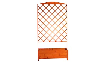 PROMADINO Holzspalier mit Pflanzkasten, BxTxH: 110x32x210 cm kaufen