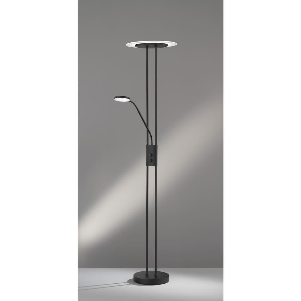 FISCHER & HONSEL LED Stehlampe »Fluente«, LED-Modul, Warmweiß-Neutralweiß