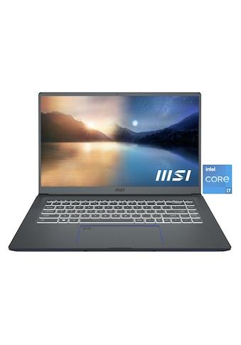 MSI Prestige 15 A11SCX - 017 Notebook (39,6 cm / 15,6 Zoll, Intel,Core i7, 1000 GB SSD) kaufen
