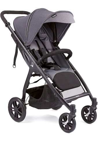 Gesslein Kinder-Buggy »Smiloo Happy, schwarz/grau meliert«, Kinderwagen, Buggy,... kaufen