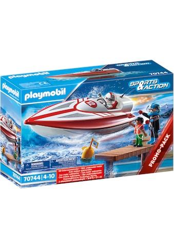 Playmobil® Konstruktions-Spielset »Speedboot mit Unterwassermotor (70744), Sports &... kaufen