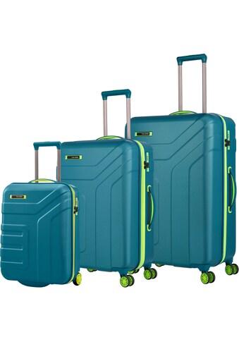 "travelite Trolleyset ""Vector, Petrol/Limone"", (Set, 3tlg.) kaufen"