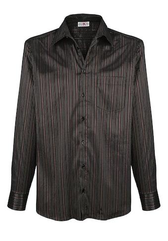 Roger Kent Partyhemd mit Streifen in Glanzoptik kaufen