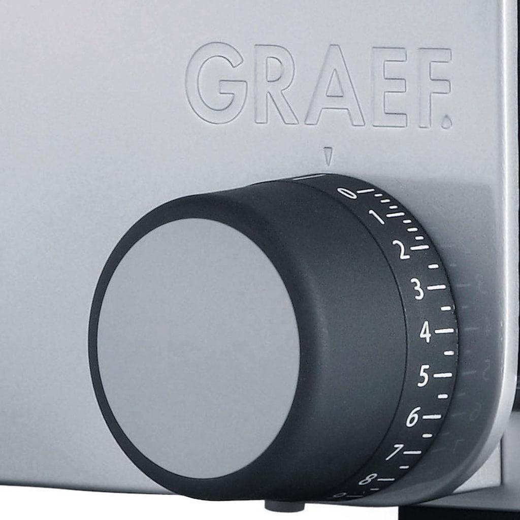 Graef Allesschneider »Vivo 24 TWIN-KOMBI«, 170 W, inkl. Schinkenmesser & Messerschärfer im Wert von 64,98€ UVP