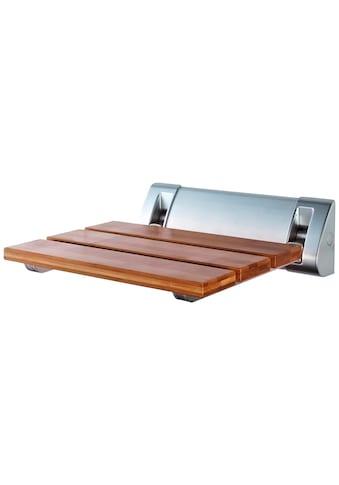 RIDDER Duschklappsitz »Comfort«, mit Bambus Sitzfläche kaufen