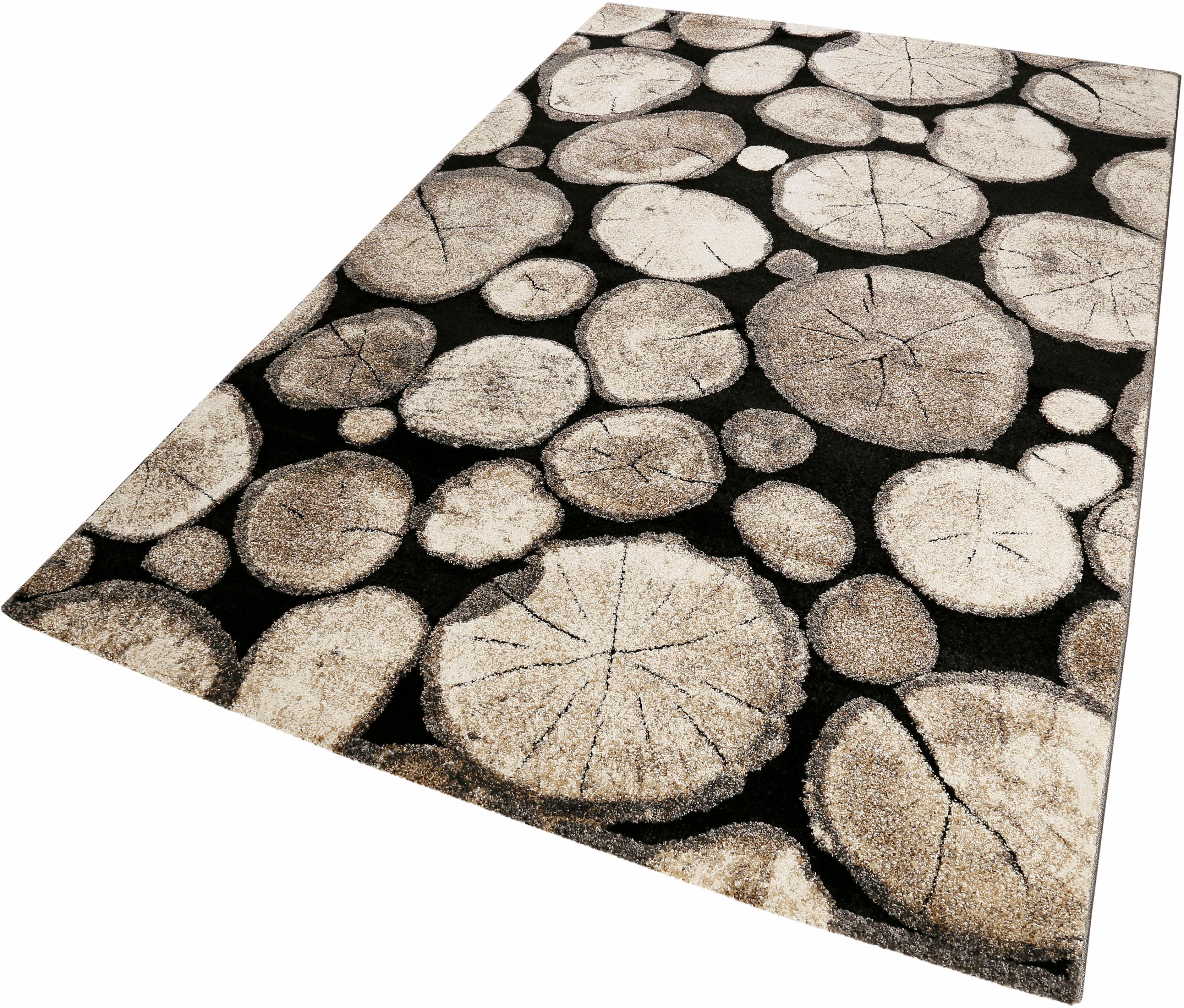 Teppich Logs Wecon Home rechteckig Höhe 13 mm maschinell gewebt