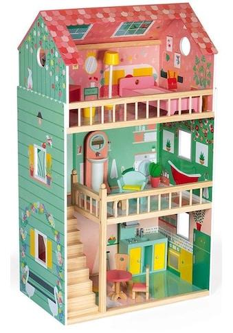 Janod Puppenhaus »Maxi, Happy Day«, mit Möbel kaufen