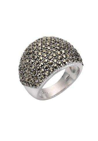 Zeeme Fingerring »925/- Sterling Silber Markasit«, Ring kaufen
